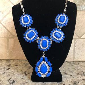 Jewelry - Beautiful Blue/Rhinestone Necklace